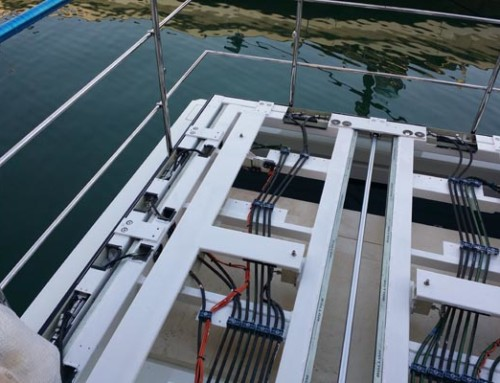 Montaggio in barca