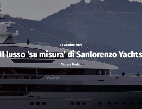 """Il lusso """"su misura"""" di Sanlorenzo Yachts"""