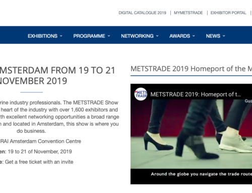 JOIN US IN AMSTERDAM FROM 19 TO 21 NOVEMBER 2019