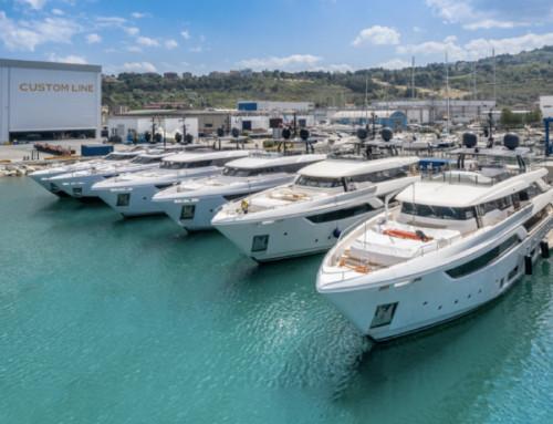 Custom Line vara 11 nuovi yacht nel primo semestre 2020